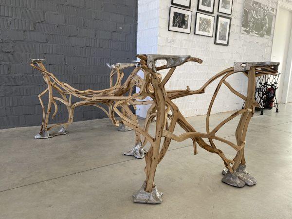 mesa jorge vazquez escultor